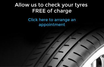 Allow us to check your tyres FREE of charge